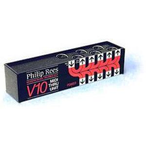 Philip Rees V10 MIDI Thru box