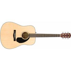 Fender CD60S Natural dreadnought gitaar