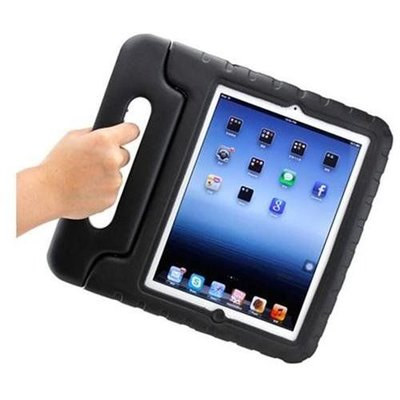 iPadspullekes.nl iPad Air Kids Cover zwart