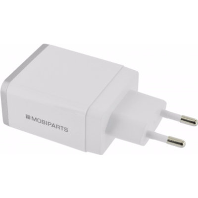 Mobiparts iPad oplader USB wit