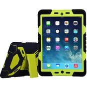 iPadspullekes.nl iPad 2017 hoes Spider Case zwart  groen