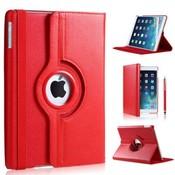 iPadspullekes.nl iPad Pro 10,5 hoes 360 graden rood leer