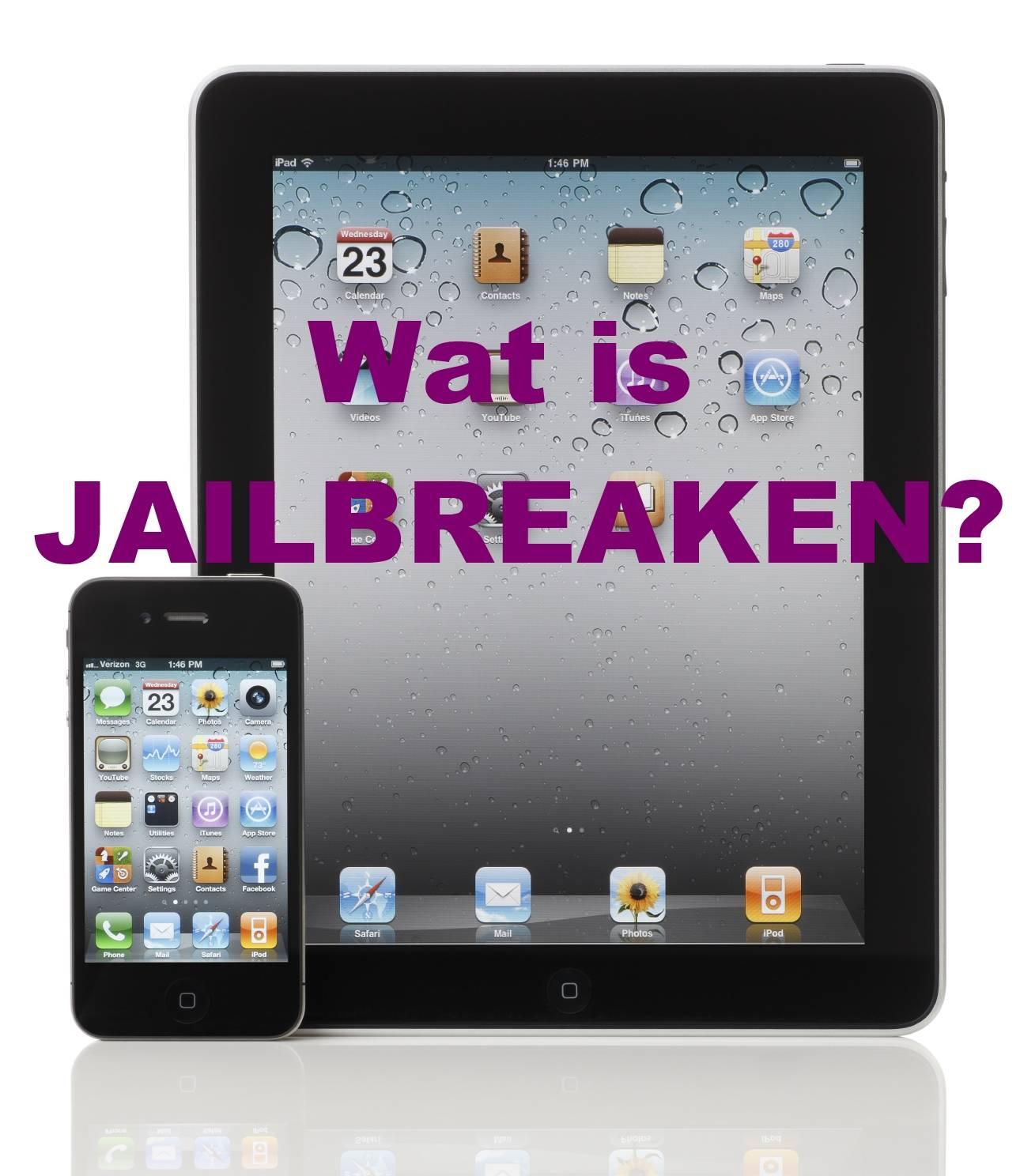Wat is jailbreaken? Het illegaal kraken van App's die te koop zijn in de Apple store