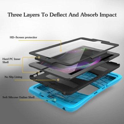 iPadspullekes.nl iPad Pro 10,5 hoes Protector licht blauw
