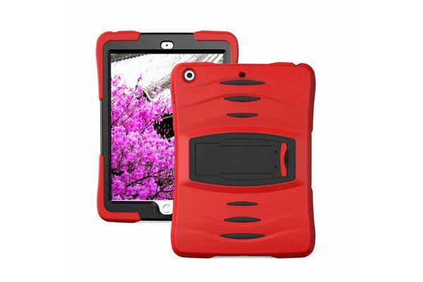 iPadspullekes.nl iPad Pro 10,5 hoes Protector rood