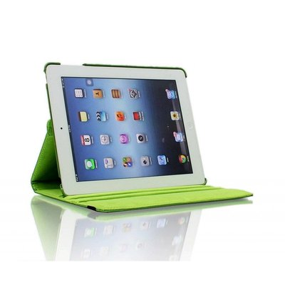 iPadspullekes.nl iPad Pro 12,9 (2017) hoes Groen leer