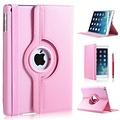 iPadspullekes.nl iPad Pro 12,9 (2017) hoes Licht roze leer