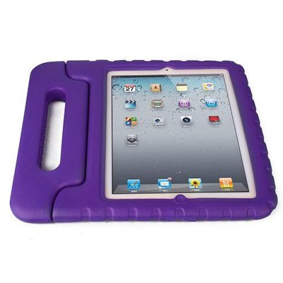 iPadspullekes.nl iPad Air Kids Cover paars