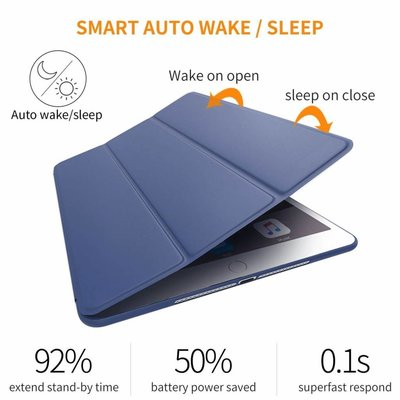 iPadspullekes.nl iPad 2017 Smart Cover Case Blauw