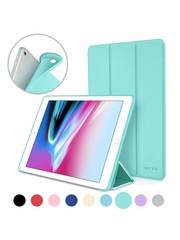 iPadspullekes.nl iPad 2017 Smart Cover Case Licht Blauw