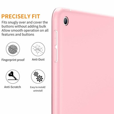 iPadspullekes.nl iPad 2017 Smart Cover Case Licht Roze
