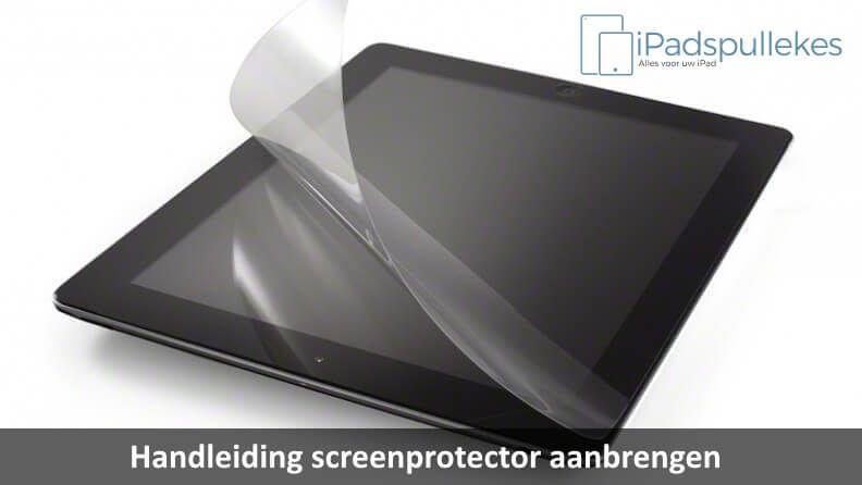 Handleiding screenprotector aanbrengen