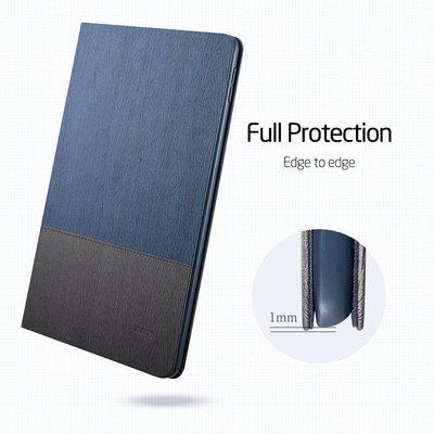 ESR iPad Mini  1 2 3  hoes Design Blauw Grijs