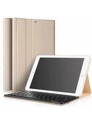 iPadspullekes.nl iPad 2017 hoes met afneembaar toetsenbord goud