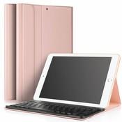 iPadspullekes.nl iPad Air 2 hoes met afneembaar toetsenbord roze