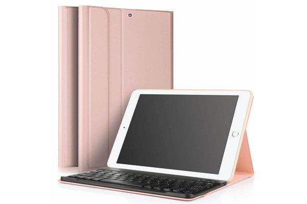 iPadspullekes.nl iPad Pro 9.7 hoes met afneembaar toetsenbord roze