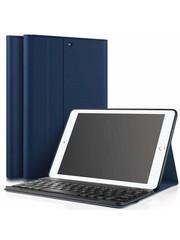 iPadspullekes.nl iPad hoes met afneembaar toetsenbord blauw