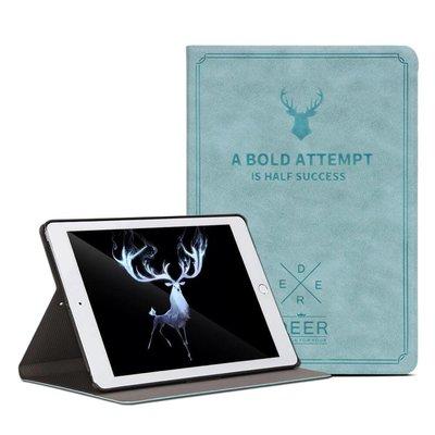 iPadspullekes.nl iPad hoes 2018 leer licht blauw
