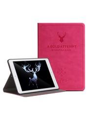 iPadspullekes.nl iPad hoes 2018 leer roze