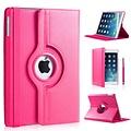 iPadspullekes.nl iPad 2018 hoes 360 graden roze leer