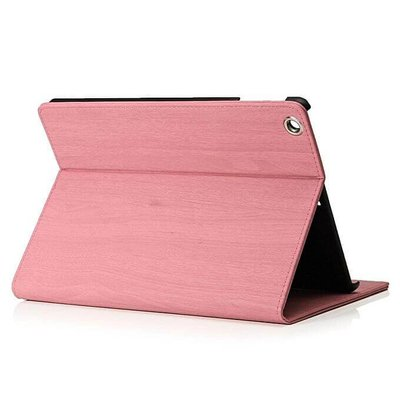 iPadspullekes.nl iPad hoes 2018 Design baby roze hout print
