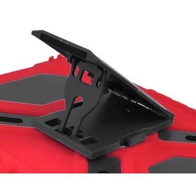 iPadspullekes.nl iPad 2018 hoes Spider Case rood zwart