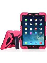 iPadspullekes.nl iPad 2018 hoes Spider Case roze zwart