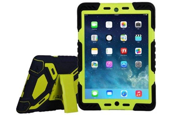 iPadspullekes.nl iPad 2018 hoes Spider Case zwart  groen