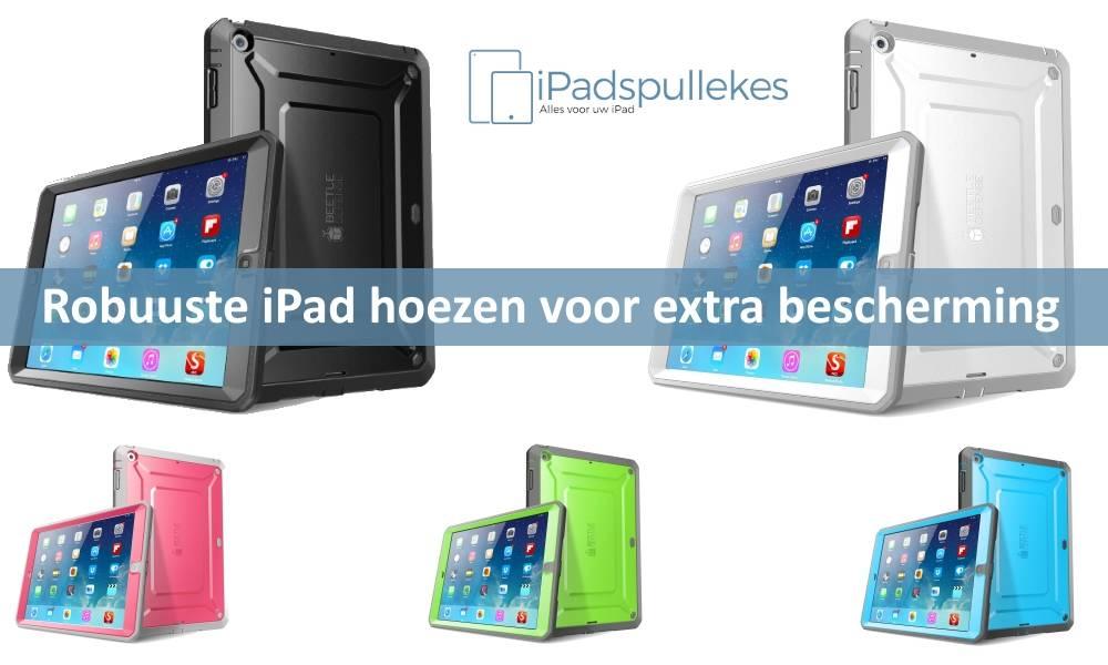 Extra robuuste iPad hoes, voor kinderen en zakelijk gebruik