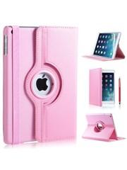 iPadspullekes.nl iPad hoes 360 graden licht roze leer
