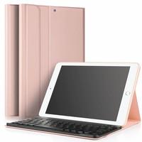 iPadspullekes.nl iPad hoes met afneembaar toetsenbord roze
