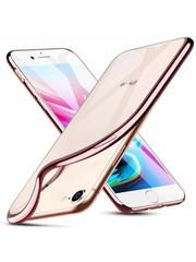 ESR iPhone X hoesje ultradun galvanische roze zijkant zacht TPU