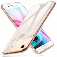 ESR iPhone 8 Plus hoesje ultra dunne Roze zacht TPU