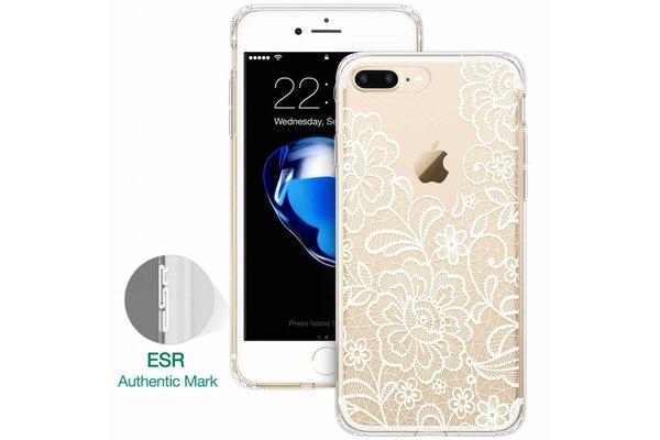 ESR iPhone 7 hoes mandala Ibiza wit zacht TPU