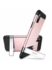 ESR iPhone X robuuste hoes met standaard roze