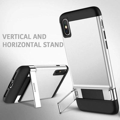 ESR iPhone 7 Plus robuuste hoes met standaard zilver