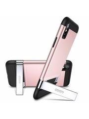 ESR iPhone 8 Plus robuuste hoes met standaard roze