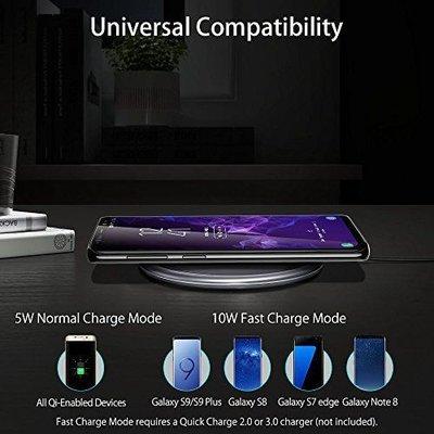 ESR Draadloze oplader Apple iPhone 8 zwart