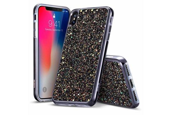 ESR iPhone 7 Plus hoes zwarte glinsters chique design zacht