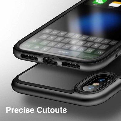 ESR iPhone 7 Plus bumper met transparant achterkant zwart