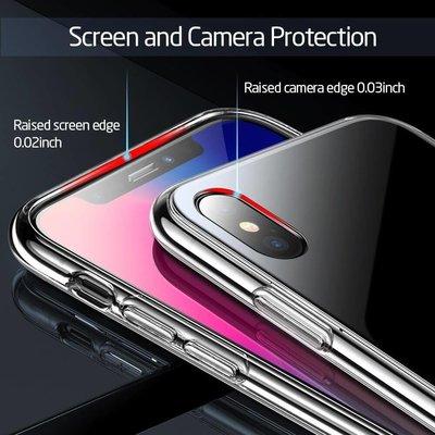 ESR iPhone 8 hoes met zwarte glazen achterkant