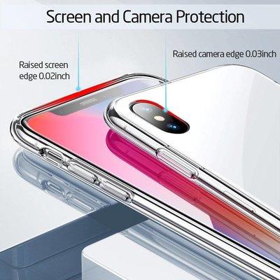 ESR iPhone 8 hoes met witte glazen achterkant