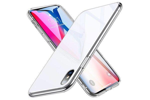 ESR iPhone 7 hoes met witte glazen achterkant