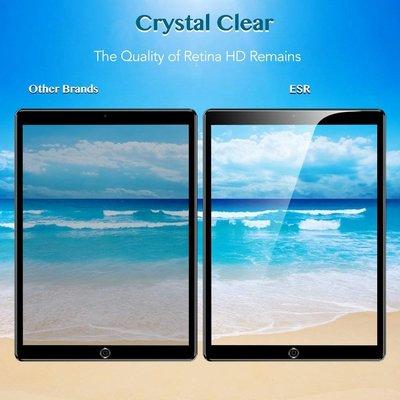 ESR iPad 2018 Screenprotector (Glas) met installatie frame