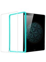 ESR iPad 2017 Screenprotector (Glas) met installatie frame