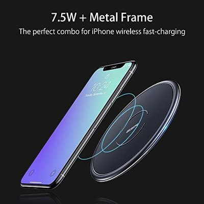 ESR Draadloze oplader Apple iPhone 8 Plus zwart