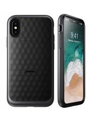 i-Blason iPhone X hoes extra bescherming met holster Zwart