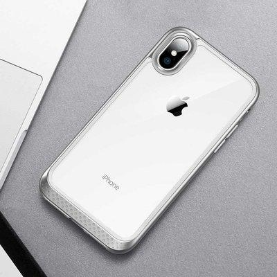 ESR iPhone XS bumper met transparant achterkant zilver