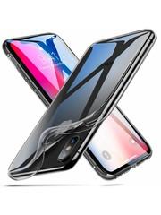 ESR iPhone XS hoesje ultra dunne Zwart zacht TPU