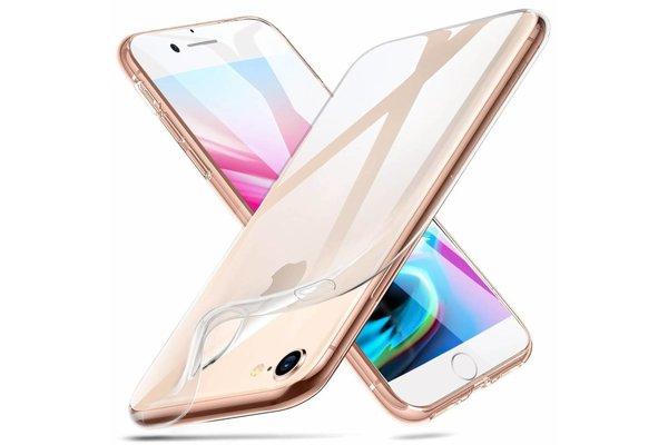 ESR iPhone XS hoesje ultra dunne Roze zacht TPU